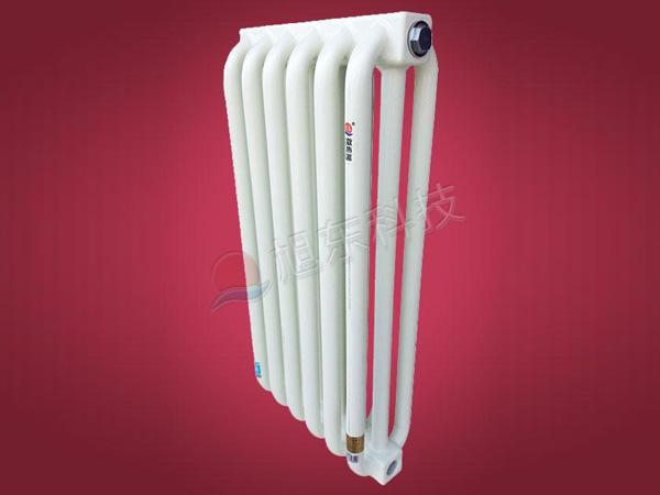 旭冬钢制弯管柱形散热器尺寸及参数